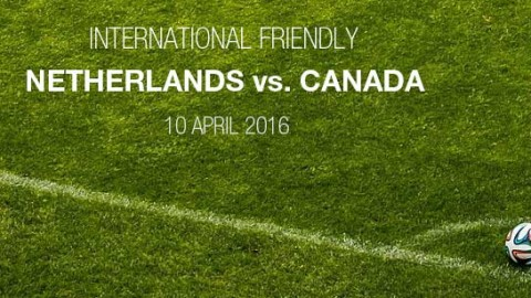 Full-time: Netherlands 1-2 Canada | International friendly (10 April 2016)