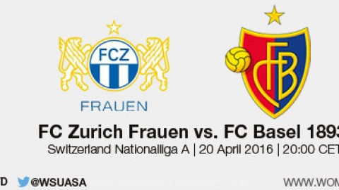 Live stream: FC Zurich Frauen vs FC Basel 1893  | Swiss Women's Nationalliga A – 20 April 2016