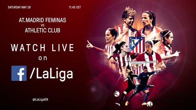 Atlético Madrid Women v Athletic Club to be shown live on La Liga's Facebook Page