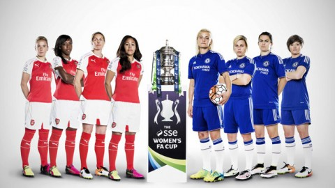 Full-time: Arsenal 1-0 Chelsea | The SSE Women's FA Cup Final at Wembley on 14 May 2016