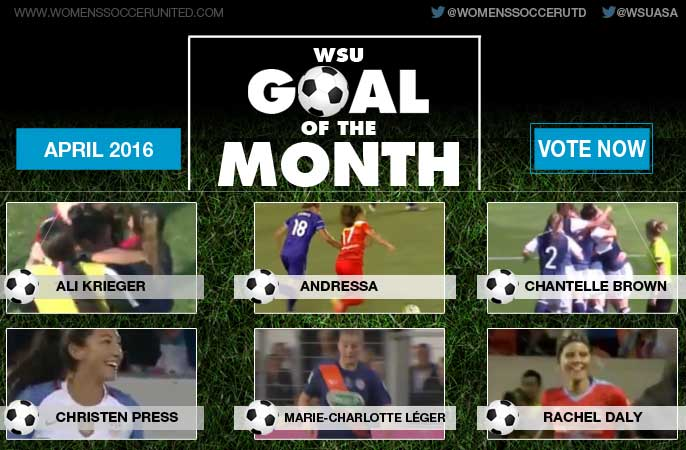 VOTE: April's WSU Goal of the Month