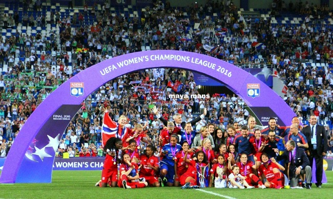 lyon 2016 winner uefa champions league