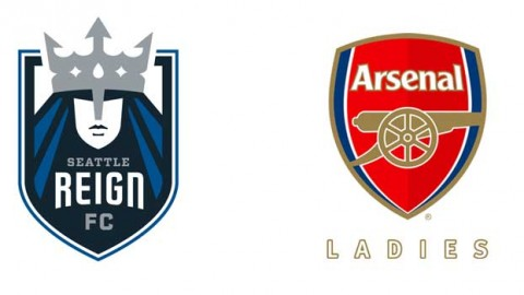 Seattle Reign FC played Arsenal Ladies FC to a 1-1 draw in an international friendly in front of a crowd of 4,083