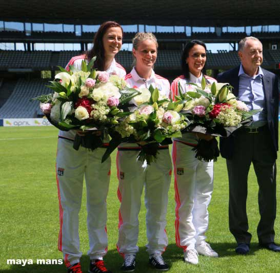 Lyon confirm Louisa Necib, Lotta Schelin and Amandine Henry are leaving club after Champions League Final