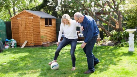 Dads urged to celebrate Father's Day with a 'Dads and Daughters Kickabout' following research findings