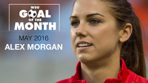 Alex Morgan wins WSU Goal of the Month – May 2016
