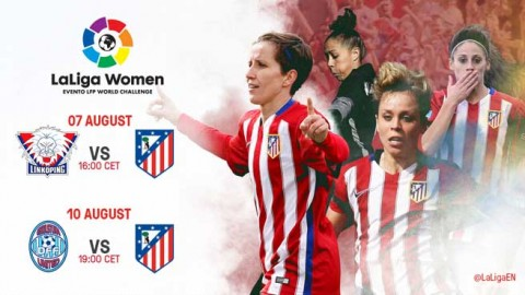 Club Atletico de Madrid Femenino to get ball rolling on LaLiga Women programme