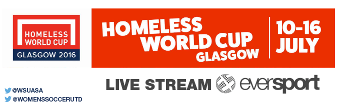 Homeless World Cup 2016 Live Stream
