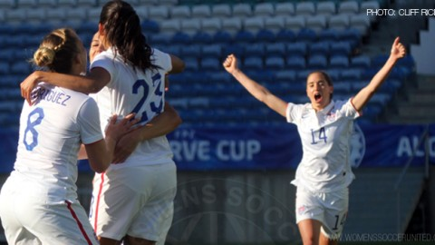 Match report: USWNT beat Russia 4-0 in front of sellout crowd of 15,191