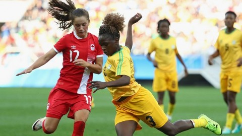 Canada qualifies for Rio 2016 Quarterfinals after 3:1 win over Zimbabwe