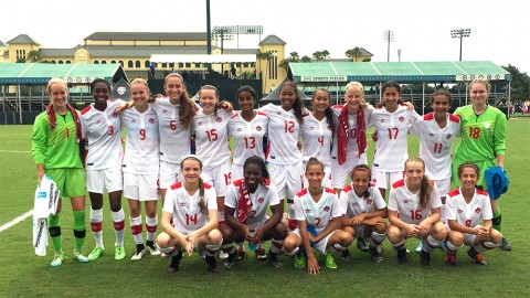 Canada WU15 wins CONCACAF Group B perfect after 6:0 win