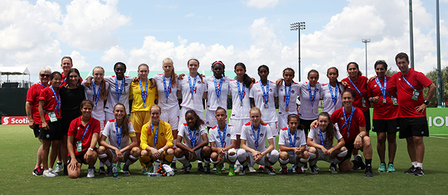 Canada win silver at CONCACAF Girls' Under-15 Championship