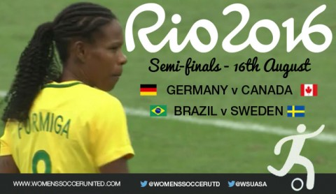 Semi-finals – Rio 2016 Olympic Games Women's Football tournament
