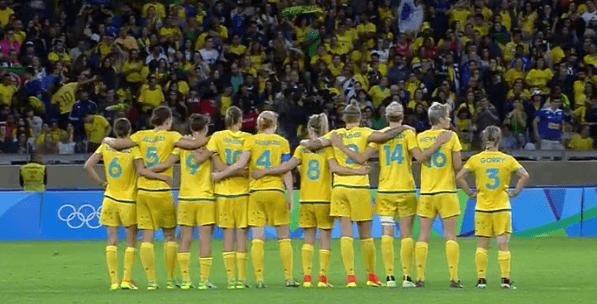 Australia WNT at Rio 2016