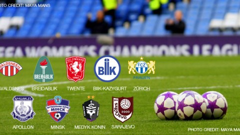 Apollon, Minsk, Breidablik, Medyk Konin, Zürich, Sarajevo, BIIK-Kazygurt, Avaldsnes and Twente advance to UWCL round of 32
