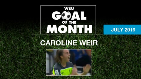 Caroline Weir wins WSU Goal of the Month – July 2016