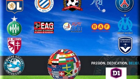 D1 Féminine Opening Day Results 11th September 2016