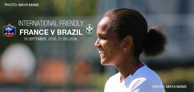 International friendly: France v Brazil (16 September 2016)