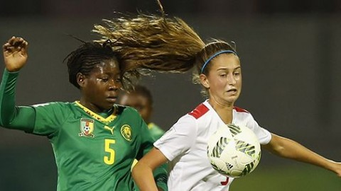 Canada kicks off Jordan 2016 with come-from-behind 3:2 victory over Cameroon