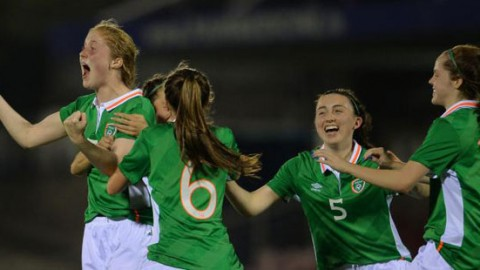 Qualification secured for Ireland Women's Under 17s