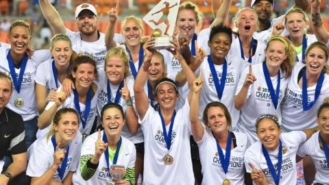 Western New York Flash Crowned 2016 NWSL Champions in front of  8,255 fans
