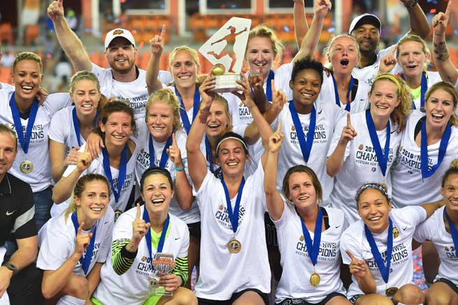 Western New York Flash Crowned 2016 NWSL Champions