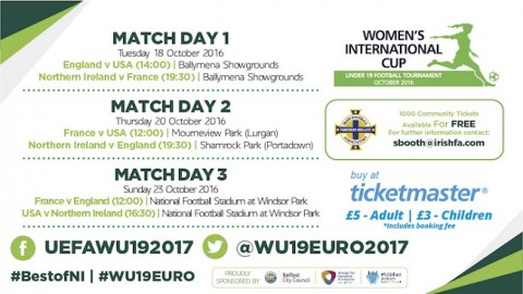 Women's International Cup U-19 Football Tournament 2016