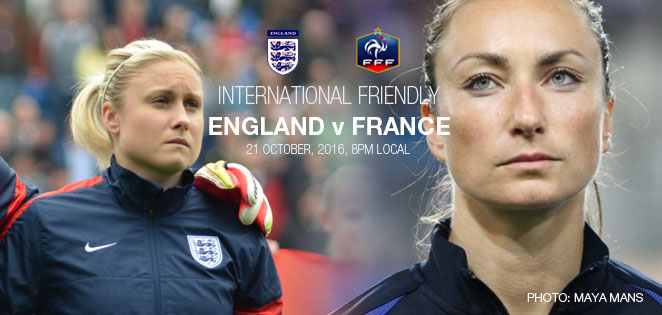 Game Day! England v France | International friendly (21 October 2016)