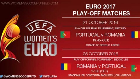 UEFA Women's EURO 2017 play-off matches