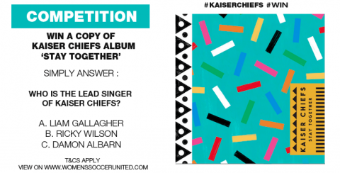 Competition: WIN! Kaiser Chiefs 'Stay Together'