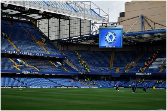 Big Screen at Stamford Bridge stadium