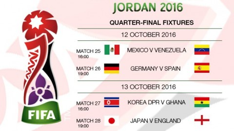 FIFA U-17 Women's World Cup 2016 Quarter-finals