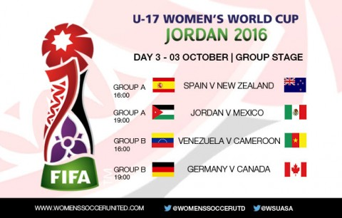 Day 3 at the FIFA U-17 Women's World Cup 2016