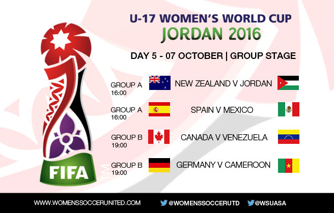 Day 5 at the FIFA U-17 Women's World Cup 2016