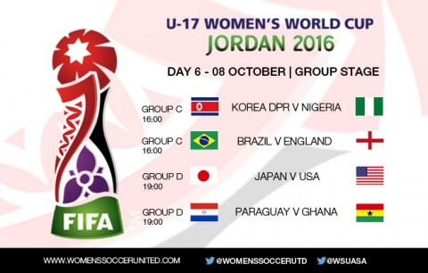 Day 6 at the FIFA U-17 Women's World Cup 2016