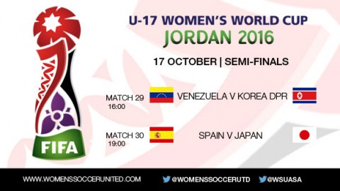 FIFA U-17 Women's World Cup 2016 Semi-finals