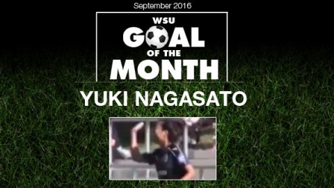Yuki Nagasato wins WSU Goal of the Month – September 2016