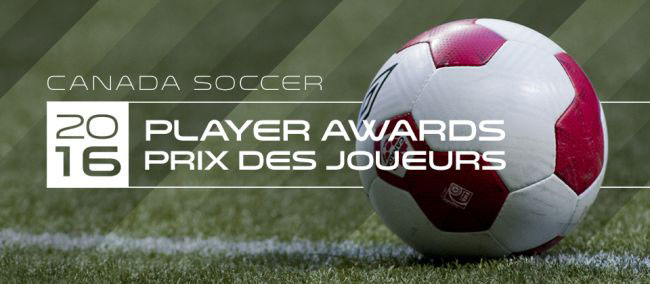 Award nominees announced for annual Canada Soccer Player Awards
