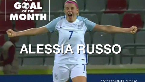 Alessia Russo wins WSU Goal of the Month – October 2016