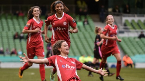 Shelbourne Ladies win FAI Continental Tyres Women's Senior Cup