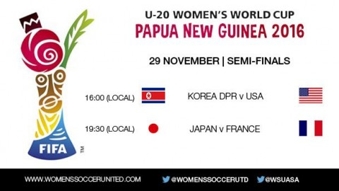FIFA U-20 Women's World Cup 2016 – Semi-finals