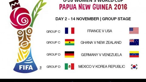Day 2 at the FIFA U-20 Women's World Cup 2016