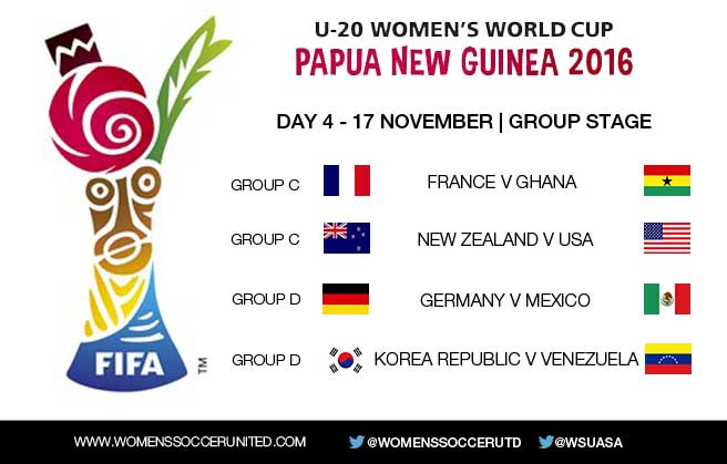 Day 4 at the FIFA U-20 Women's World Cup 2016