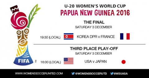 FIFA U-20 Women's World Cup 2016 – The Final and 3rd Place Playoff