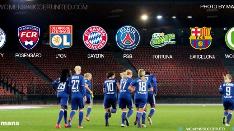 Meet the UEFA Women's Champions League 2016/17 Quarter-finalists
