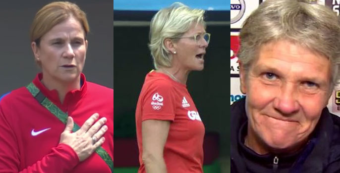 Jill Ellis, Silvia Neid and Pia Sundhage are the three nominees for The Best FIFA Women's Coach 2016