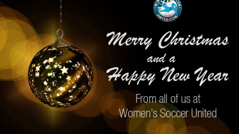 Merry Christmas and a Happy New Year from all of us at Women's Soccer United
