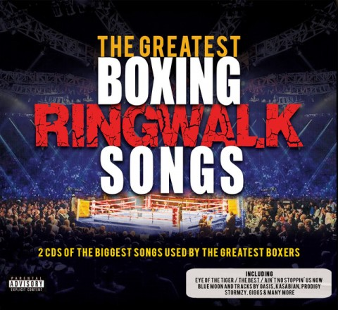 WIN THE GREATEST BOXING RINGWALKS DOUBLE ALBUM + TOP TRUMP CARDS!