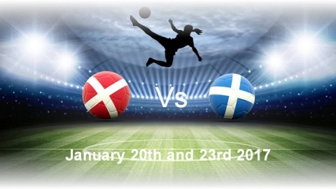 Denmark to play Scotland twice in January 2017