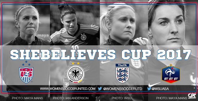 SheBelieves Cup 2017 fixtures